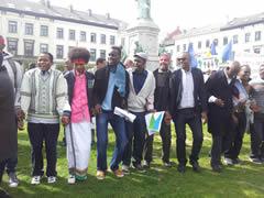 Mnifestation djibouti contre Ismaël Omar Guelleh le 2 avril 2014
