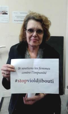 Marie-Claude Vergiiat, députée européenne en visite à Arcueil