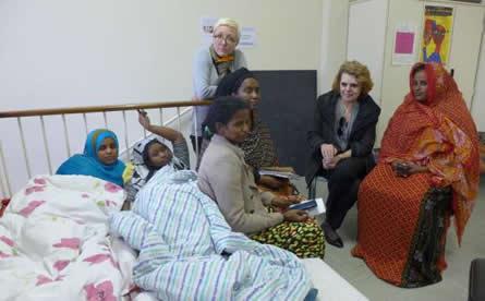 Grève de la faim - Djiboutiennes à Arcueil
