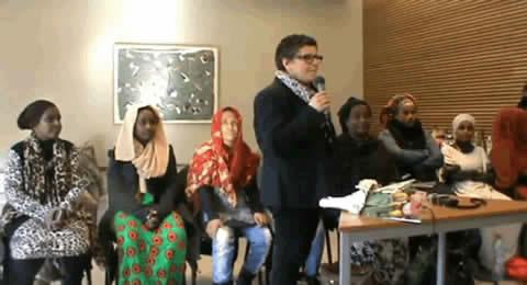 Femmes djiboutiennes dénonçant les viols et l'impunité
