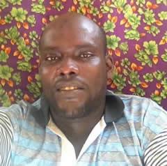 ahmed abdallah kamil gendarme djiboutien à l'isolement à la prison de Gabode