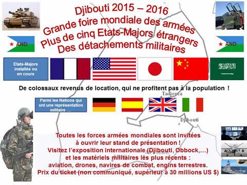Foire aux armées à Djibouti