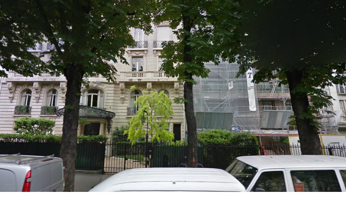 Appartement de Guelleh à Paris