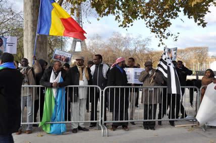 Manifestation du 6 décembre pour dénoncer la dictature à Djibouti