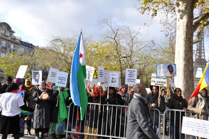 Manifestation du 6 décmebre