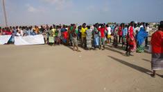 Manifestation jeunes lycéens à Obock - Djibouti