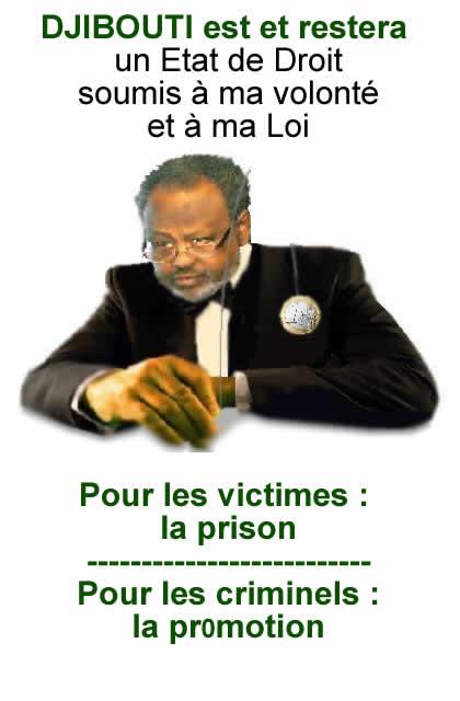 La prison pour les victimes, la promotiion pour les crimiinels