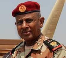 General Zakaria, chef d'état-major de l'Armée djiboutienne, la tête