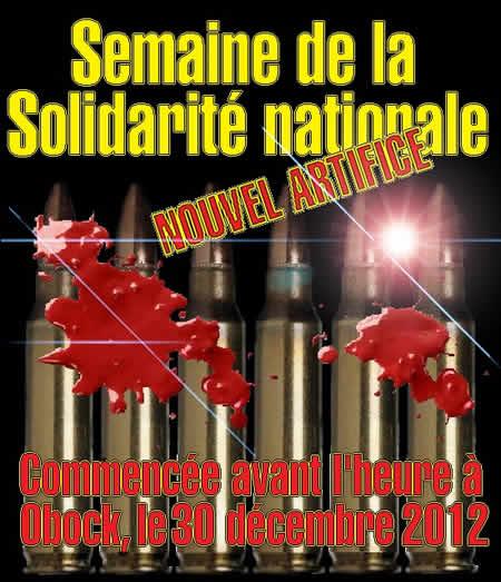 Semaine de la non-solidarité nationale à Djibouti