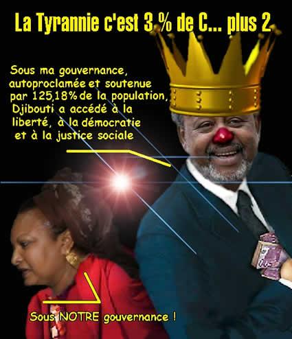La tyranie à Djibouti