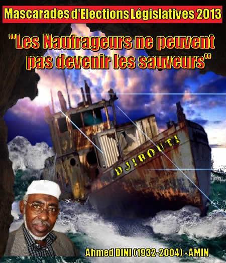Djibouti : les naufrageurs du pays couleront avec le bateau