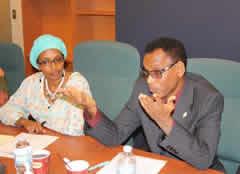 Adawa Hassan ex ministre de l'éducation à Djibouti