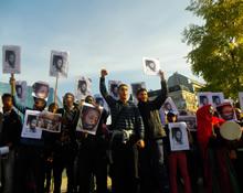 Manifestation pour libérer Jabha à Djibouti