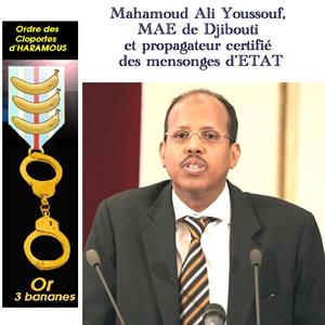 Mahamoud Ali youssou bonimenteur d'état