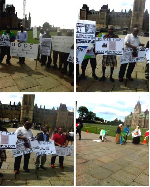 Manifestation opposition ottawa