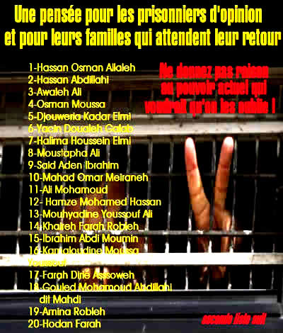 Victimes de Guelleh à Djibouti