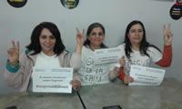 Femmes kurdes solidaires des Djiboutiennes en grève de la faim à Bruxelles