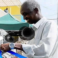 Hassan Saïd dit Madobe, chef des services djiboutiens